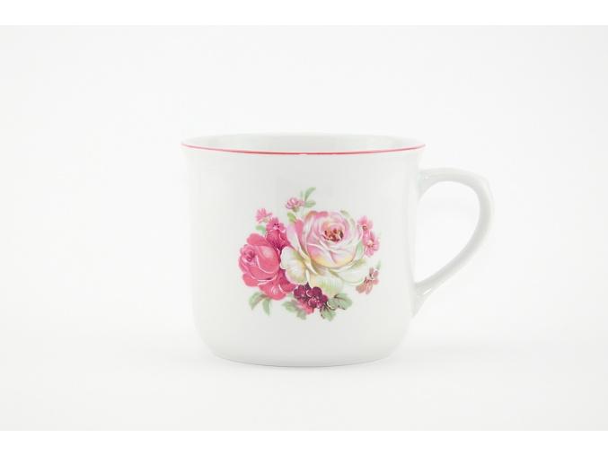 hrnek varak cesky porcelan ruze