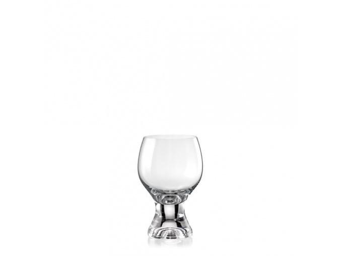 Sklenice na víno Gina 230 ml, Crystalex Bohemia, 6 ks
