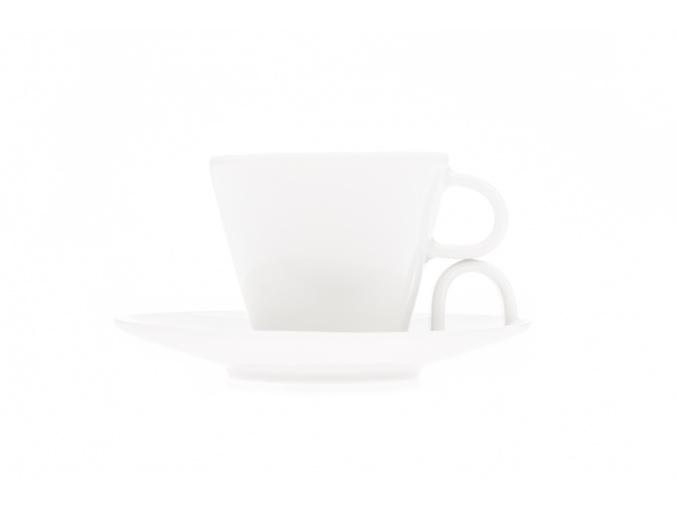 Bohemia White, šapo na espresso, Český porcelán Dubí