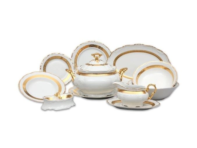 jidelni souprava marie louise zlato thun porcelanovy svet