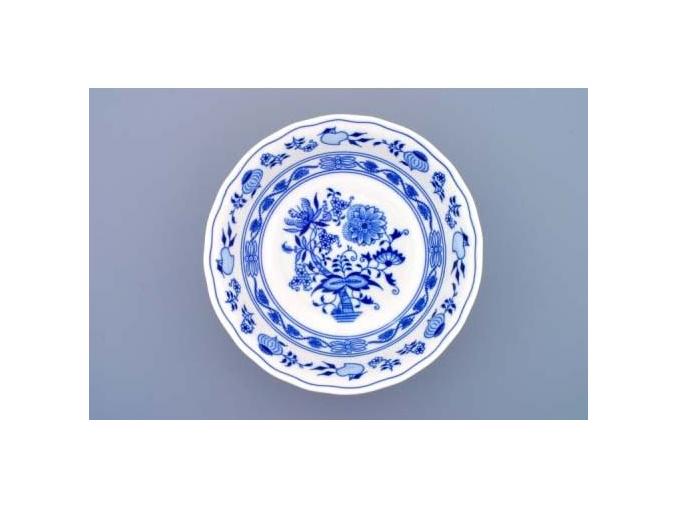 Mísa kompotová vysoká, 21 cm, cibulák, Český porcelán