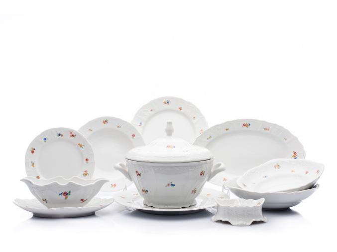 jidelni souprava bernadotte hazenky thun porcelanovy svet