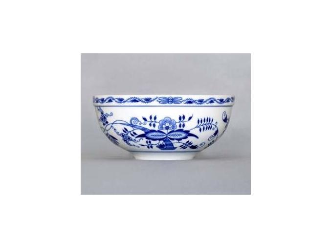 Mísa kulatá velká, 19,7 cm, cibulák, Český porcelán