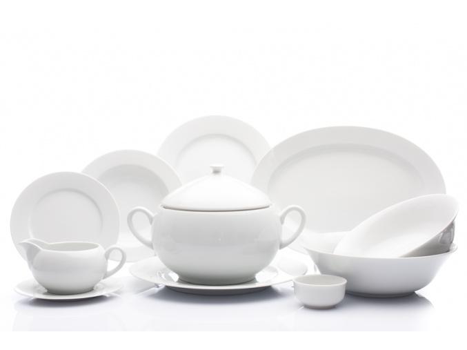 jidelni souprava opal bila cesky porcelan thun porcelanovy svet