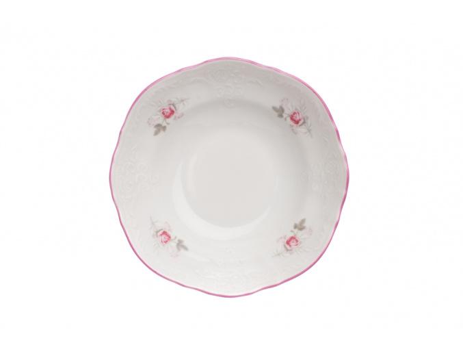 miska 13 bernadotte ruze cesky porcelan thun porcelanovy svet