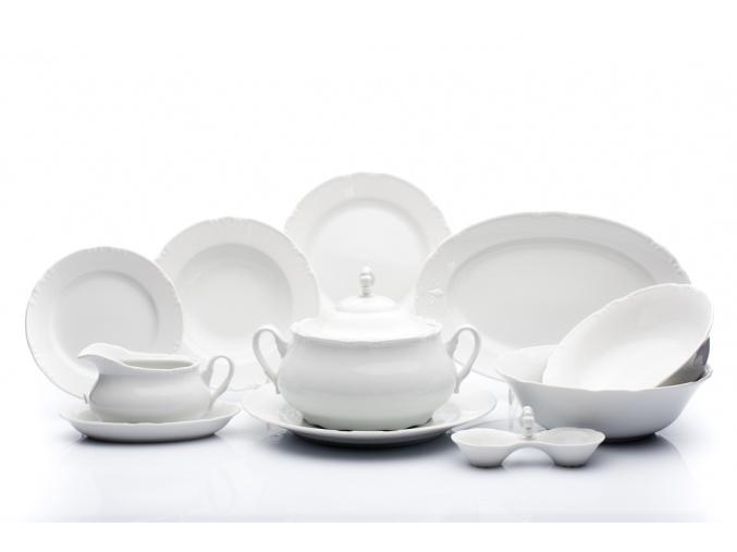jidelni souprava constance bily porcelan thun porcelanovy svet