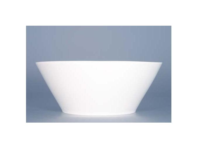 miska na polevku bohemia white cesky porcelan