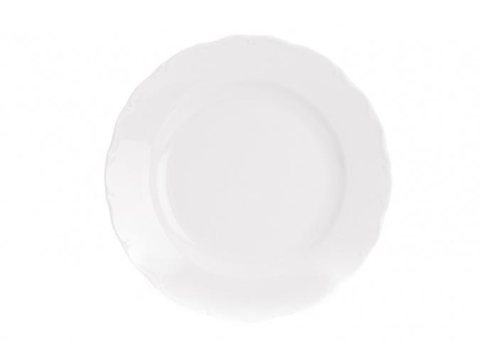 Mísa servírovací mělká, 30 cm, bílý porcelán, Ophelia, Thun Rulak Zettlitz