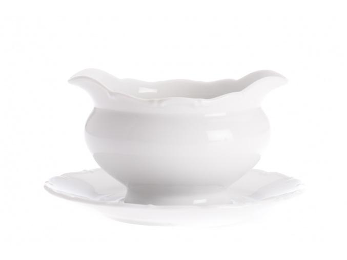 Omáčník, 0,40 l, bílý porcelán, Ophelia, Thun Rulak Zettlitz