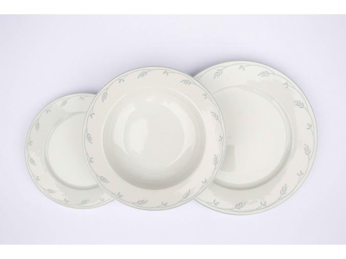 Opal, talířová souprava, klásky