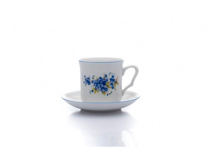 hrnek karel s podšálkem pomněnky dubí porcelanovy svet