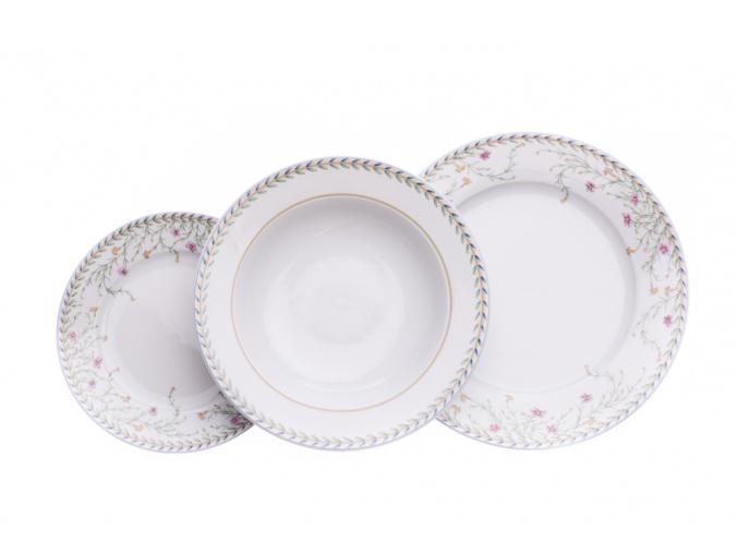 talirova souprava opal drobne kyticky thun cesky porcelan