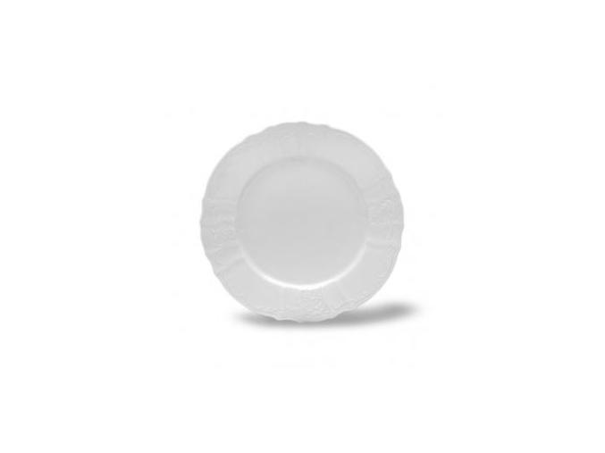 talir melky Bernadotte bily 25 cm cesky porcelan