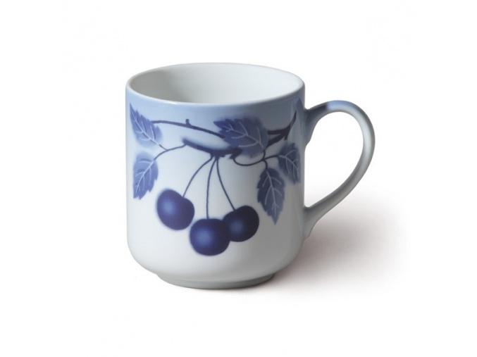 Hrnek Cherry, 425 ml, sada 4 ks, modré třešně, Thun