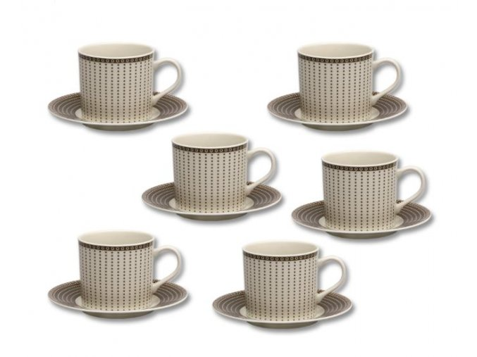 salky kavove cairo slonova kost 100 ml thun porcelanovy svet