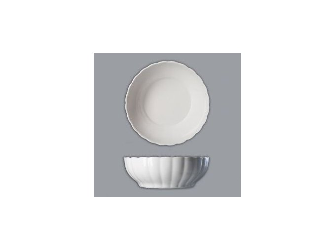 Velká zadělávací mísa, 31 cm, porcelánová, bílá, Thun