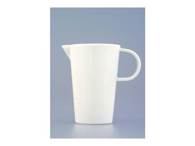 Bohemia White, mlékovka, bílá, Český porcelán Dubí