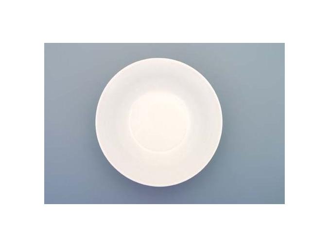 Bohemia White, mísa na kompot, bílá, 12,5 cm, Český porcelán Dubí