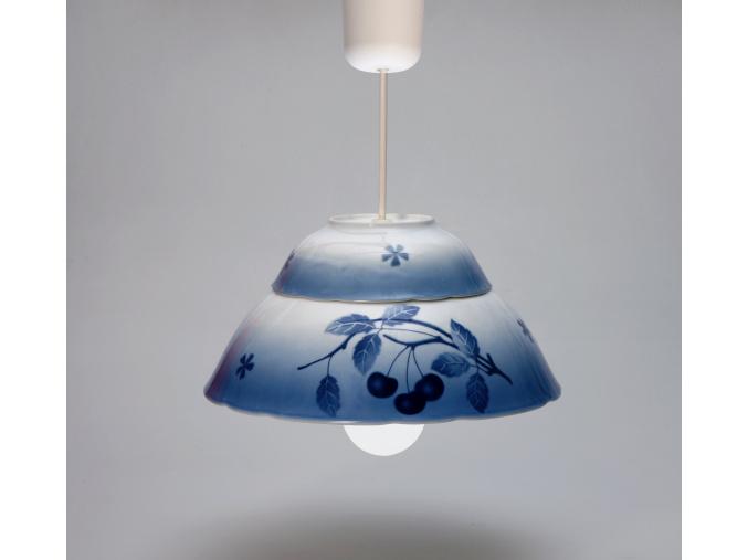 Lustr, blue cherry