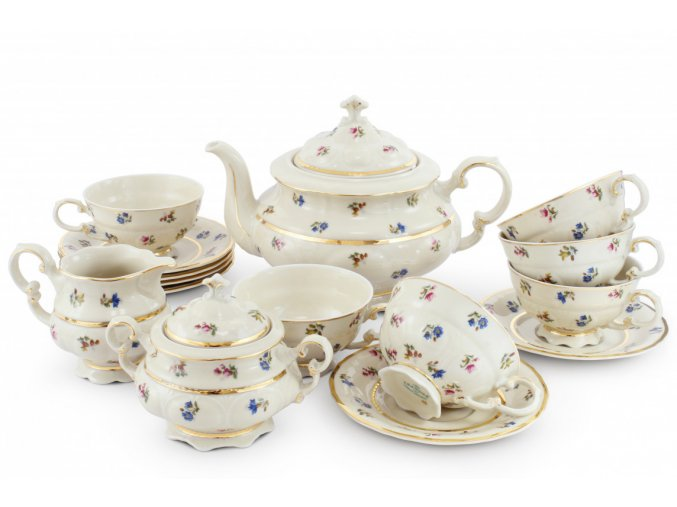 cajova souprava 15 ti dilna kvetinova oslava leander porcelanovy svet