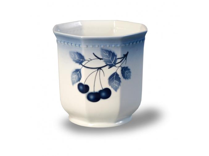 Pouzdro - květináč, blue cherry