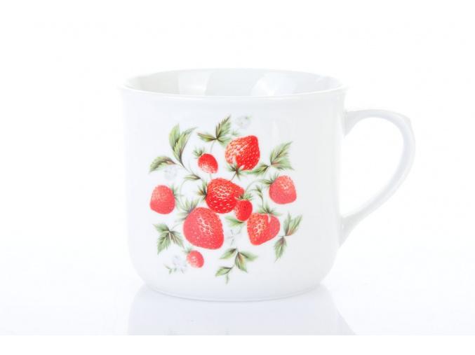 hrnek vařák jahody dubí porcelánový svět