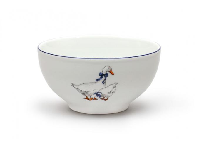 miska polévková 700 ml český porcelán husy thun