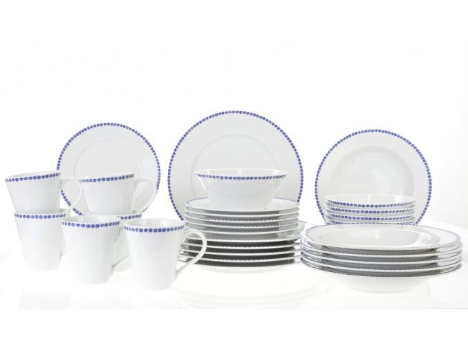 jidelni souprava odense modra porcelan thun porcelanovy svet