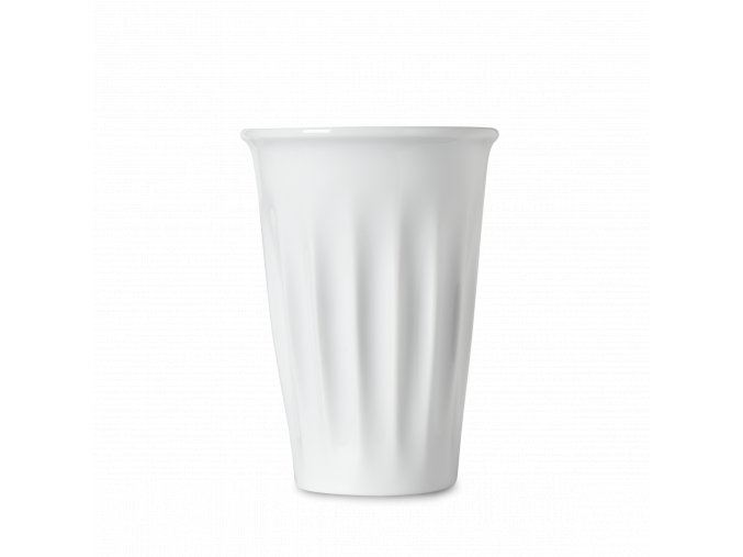 Porcelánový hrnek na kávu s sebou