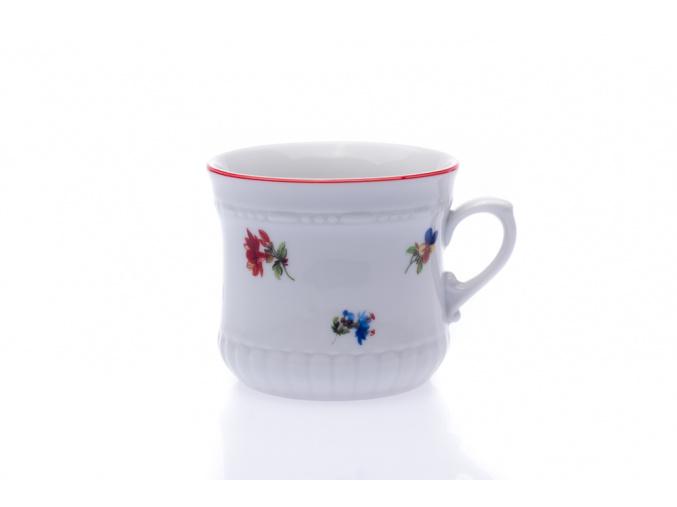 porcelánový hrnek perlový malý 260 ml český porcelán