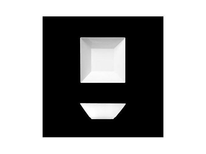 Actual, miska čtyřhranná 9 cm, Suisse Langenthal