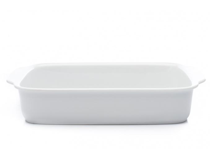 Mísa zapékací, extra velká, bílý porcelán, 39,5 cm, Thun