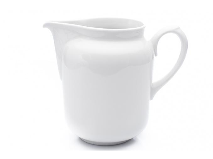 Džbán 2,3 l, bílý porcelán, G. Benedikt