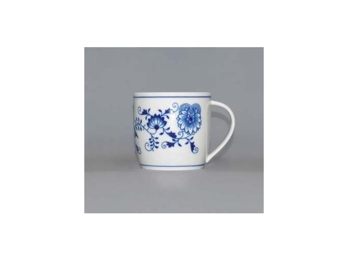 Hrnek Andreas 0,26 l, cibulák, Český porcelán