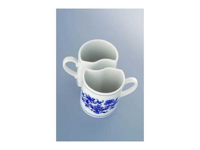 Sada 2 ks hrnků 0,24 l,  cibulák, Český porcelán