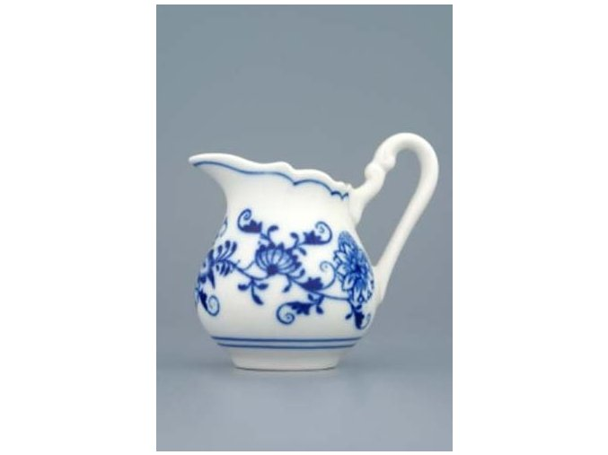 Mlékovka vysoká  0,08 l,  cibulák,  Český porcelán