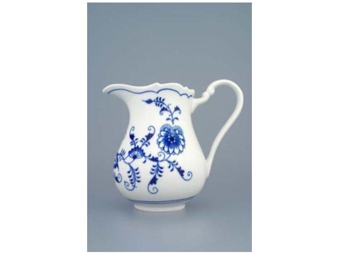 Mlékovka vysoká  850 ml,  cibulák,  Český porcelán
