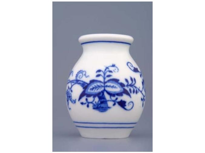 Váza 7 cm, cibulák, Český porcelán