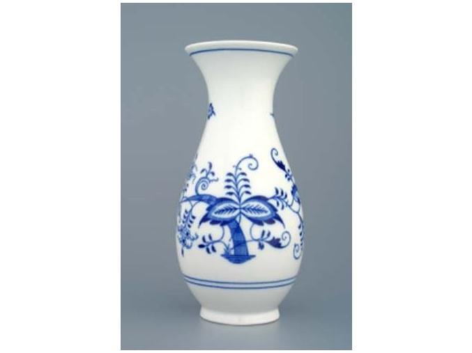 Váza 20 cm, cibulák, Český porcelán