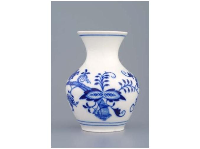 Váza 10 cm, cibulák, Český porcelán