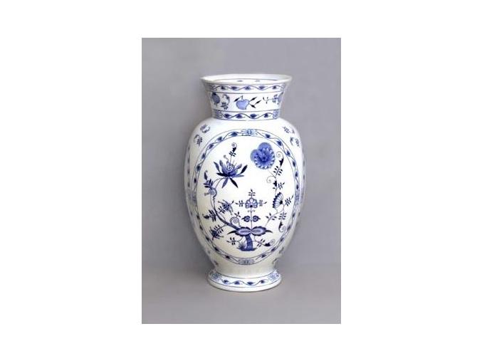 Váza Dux  48 cm, cibulák, Český porcelán