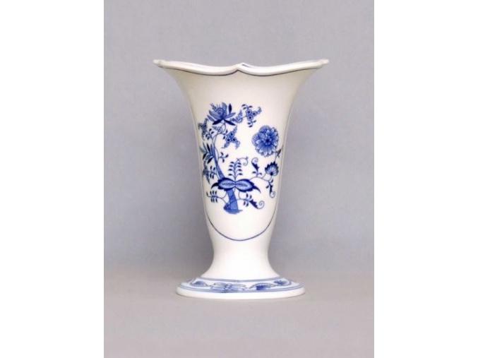Váza Dux  20 cm, cibulák, Český porcelán