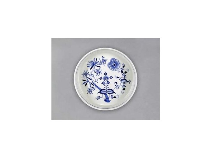 Mísazapékací kulatá velká  4,6 cm, cibulák, Český porcelán
