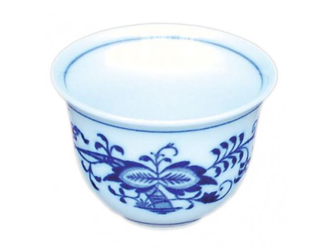 Kalíšek Ali II M 0,05 l, cibulák, Český porcelán