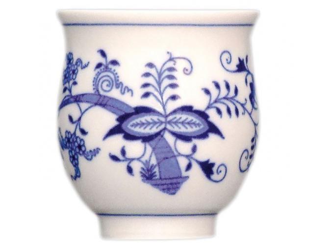 Pohárek na čaj 0,18 l, cibulák, Český porcelán