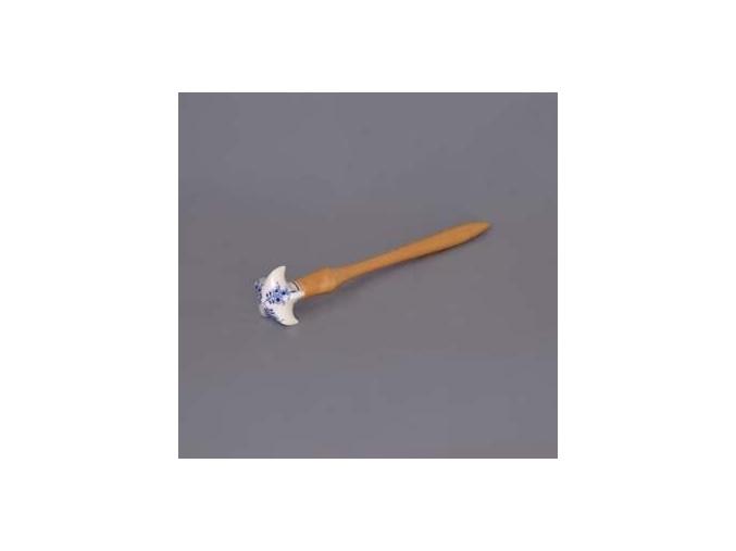 Kvedlačka střední  25 cm,  cibulák, Český porcelán