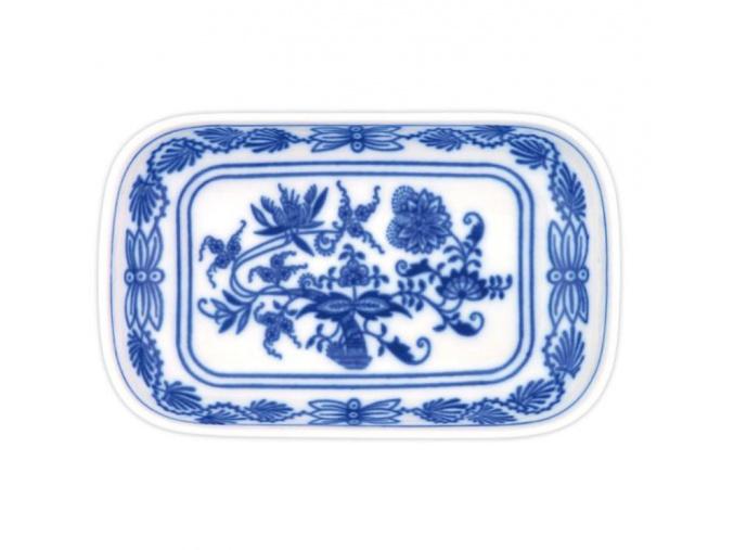 Miska AERO velká 18 x 11cm, cibulák, Český porcelán