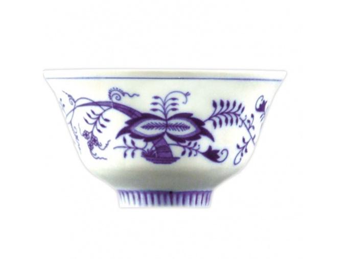 Miska Čajan 6,8 cm, cibulák, Český porcelán