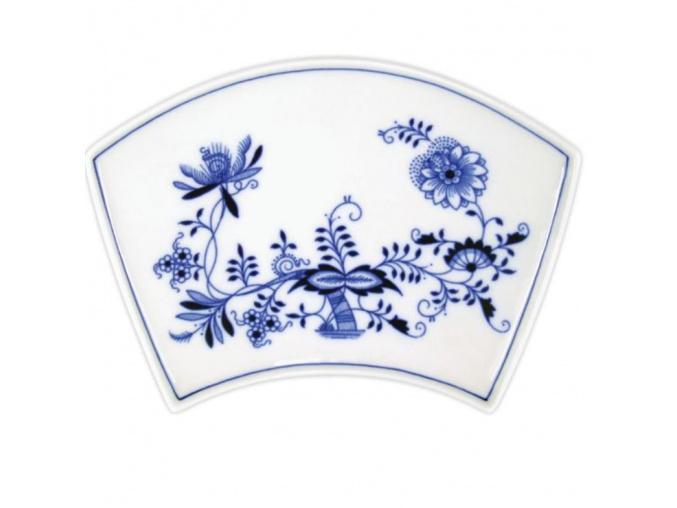 Miska Fan 19,4 x 13,0 cm, cibulák, Český porcelán