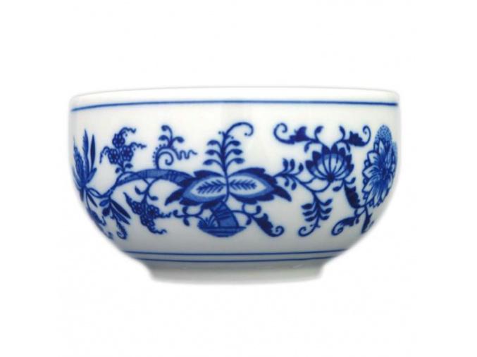 Miska hladká vysoká 13,2 cm, cibulák, Český porcelán